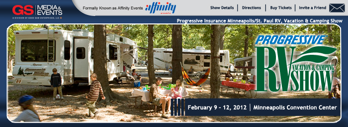 MSP RV, vacation and camping show banner