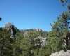 Near Cathedral Spires in Black Hills, SD